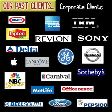 Our Past Clients - Corporate Clients